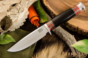 Manitou Cru-Wear Black Canvas Micarta
